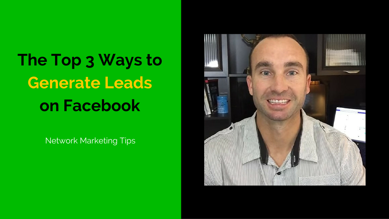 Generate leads on Facebook