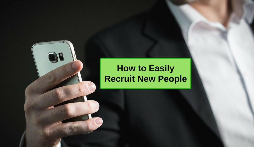 Easily Recruit New People in MLM Month After Month