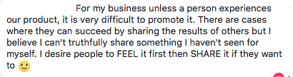 retailing in network marketing