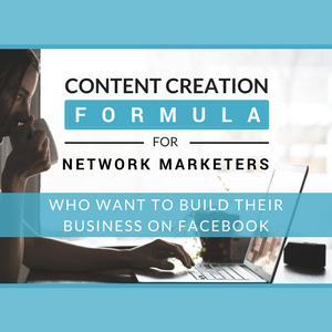 Formula for Network Marketers